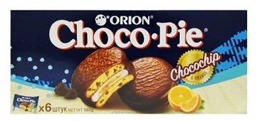 Пирожное Orion Choco Pie Choco Chip