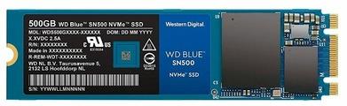 Твердотельный накопитель Western Digital WD BLUE SN500 500 GB (WDS500G1B0C)