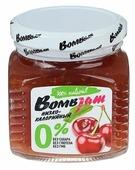 Джем низкокалорийный BombBar Вишня без сахара, банка 250 г