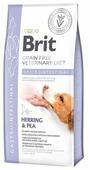 Корм для собак Brit Veterinary Diet при болезнях ЖКТ, сельдь с горошком