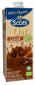 Овсяный напиток Riso Scotti Oat с какао 1.4%, 1 л
