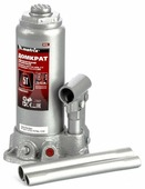 Домкрат бутылочный гидравлический matrix 50756 (5 т)