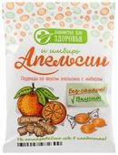 Леденцы Лакомства для здоровья Апельсин и имбирь без сахара 50 г