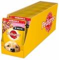 Корм для собак Pedigree для здоровья кожи и шерсти, ягненок 100г