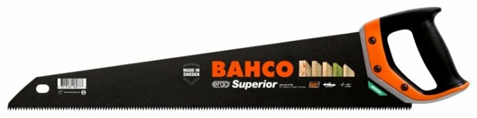 Ножовка по дереву BAHCO Superior 2600-22-XT-HP 550 мм