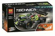 Конструктор BELA Technic 10820 Зеленый гоночный автомобиль