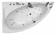 Ванна Balteco Idea 15 S1 акрил угловая