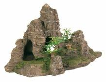 Грот TRIXIE Скалы с пещерой с растениями (8853) высота 22 см