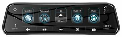 Видеорегистратор Lenovo V7 Pro Streaming Video Recorder, 2 камеры, GPS