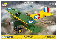 Конструктор Cobi Great War 2977 Самолет AVRO 504K