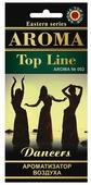 AROMA TOP LINE Ароматизатор для автомобиля Aroma 002 Dancers 14 г