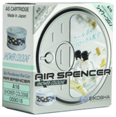 Eikosha Ароматизатор для автомобиля Air Spencer A-16, Shower Cologne