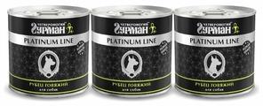Корм для собак Четвероногий Гурман Platinum line Рубец говядина