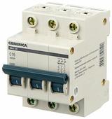Автоматический выключатель IEK ВА 47-29 GENERICA 3P (C) 4,5kA