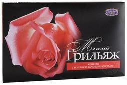 Набор конфет Шоколадные традиции Мягкий грильяж с молочной карамелью и арахисом, 180 г