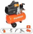Компрессор масляный PATRIOT Euro 24-240K, 24 л, 1.5 кВт