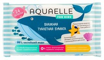 Туалетная бумага Aquaelle for Kids