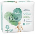 Pampers подгузники Pure Protection 4 (9-14 кг) 28 шт.