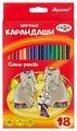 ГАММА Карандаши цветные Мультики 18 цветов (050918_08)