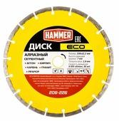 Диск алмазный отрезной 230x2.8x22.2 Hammer ECO 206-226