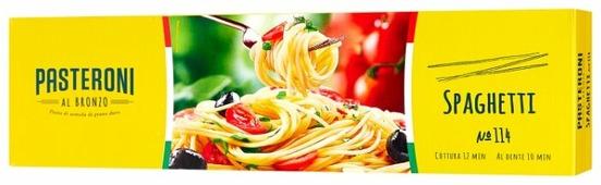 Pasteroni Макароны Spaghetti 114, 450 г