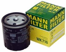 Топливный фильтр MANNFILTER WK716