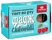 Щербет У Палыча Фадж сливочный со спелой вишней 400 г