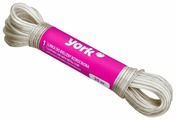 York бельевой шнур пластиковый уплотненный 20 м