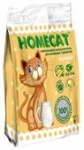 Наполнитель Homecat Эколайн Молоко (6 л)
