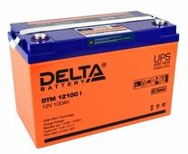 Аккумуляторная батарея DELTA DTM 12100 I 100 А·ч