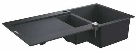 Врезная кухонная мойка Grohe K500 31646AP0 100х50см кварцевый искусственный камень