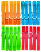 York прищепки пластиковые разноцветные 20 шт.