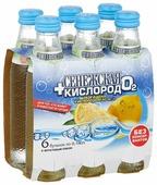 Газированный напиток Сенежская + кислород Лемонграсс и Мята