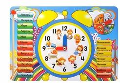 """Развивающая игра Мастер игрушек """"Часы"""" IG0014"""