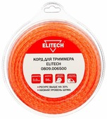 Леска для триммера Elitech 3.0mm x 56m 0809.006500