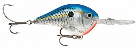 Воблер Rapala Dives-To DT16-BSD 22 г 70 мм