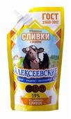 Сгущенные сливки Алексеевское с сахаром 19%, 270 г