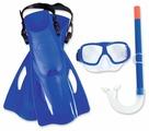 Набор для плавания с ластами Bestway SureSwim размер 37-41