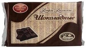 Вафли Волжские Волжский пекарь шоколадные 220 г