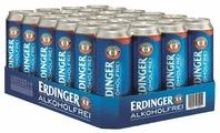 Пиво безалкогольное Erdinger Alkoholfrei ж/б 0.5 л x 24 шт