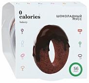Мусс 0 калорий шоколадный с шоколадным бисквитом 2%, 65 г