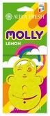AURA FRESH Ароматизатор для автомобиля Molly Lemon