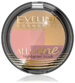 Eveline Cosmetics Румяна + хайлайтер All in One
