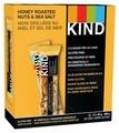 Ореховый батончик Be-Kind Honey Roasted Nuts & Sea Salt, 12 шт