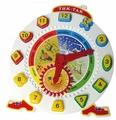 Развивающая игра Совтехстром «Тик-Так» часы с 12 логическими фигурами