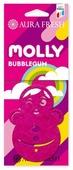 AURA FRESH Ароматизатор для автомобиля Molly Bubble Gum