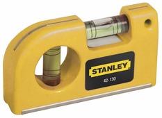 Уровень брусковый 2 глаз. STANLEY 0-42-130 8.7 см