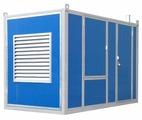 Дизельный генератор Atlas Copco QIS 10 в контейнере с АВР (7200 Вт)