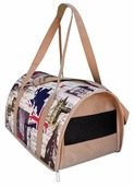 Переноска-сумка для кошек и собак Теремок ДР-1 40х23х24 см