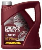 Моторное масло Mannol Energy Formula JP 5W-30 4 л